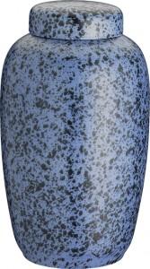 Keramik dueblå