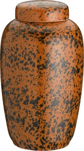 Keramik jordfarvet