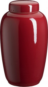 Keramik rød
